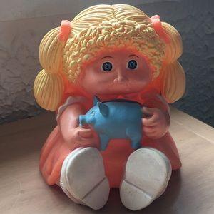 Cabbage 🥬 patch kids piggy bank vintage 1983